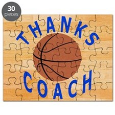 Thanks Basketball Coach Gift Mousepad Puzzle