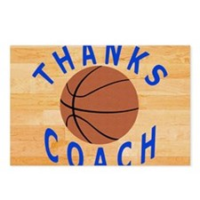 Thanks Basketball Coach G Postcards (Package of 8)