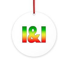 I & I Ornament (Round)