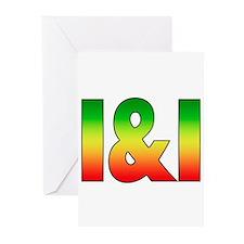 I & I Greeting Cards (Pk of 10)