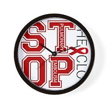 stoptheclot Wall Clock