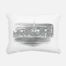 NYC-SKYLINE Rectangular Canvas Pillow