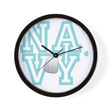 usnavywhite Wall Clock