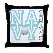 usnavy Throw Pillow