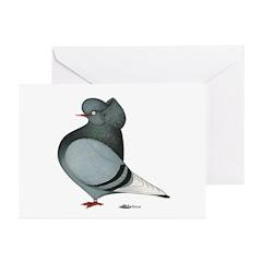 Blue Cap Flight Greeting Cards (Pk of 10)