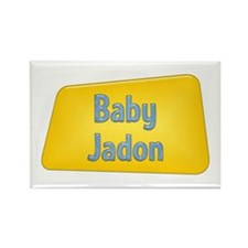 Baby Jadon Rectangle Magnet