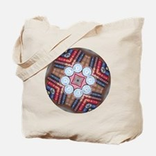 Clock-Bookshelf-8K121 Tote Bag