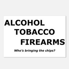 ATF and chips Postcards (Package of 8)
