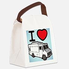 16_FoodTruck_ILove_BG Canvas Lunch Bag