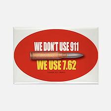 OTG 20 We dont 911  Rectangle Magnet