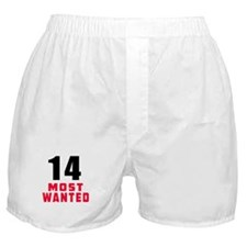 14 most wanted Boxer Shorts