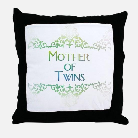 motheroftwinsdecorated Throw Pillow