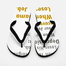 recovery_obama_job_loss_dark Flip Flops