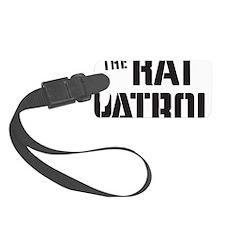 Rat-Patrol-Logo-black Luggage Tag