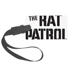 Rat-Patrol-Logo-black Luggage Tag