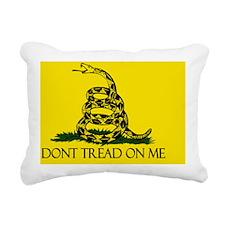 HQ Gadsden Flag Rectangular Canvas Pillow