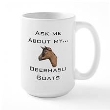 Goat Ask Oberhasli Mug