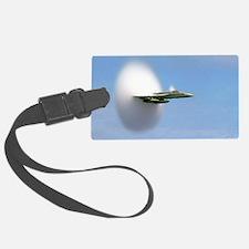 sonicboomplane_navy_big Luggage Tag