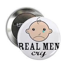 """RealMenCry 2.25"""" Button"""