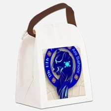 Blue Holly clan Canvas Lunch Bag