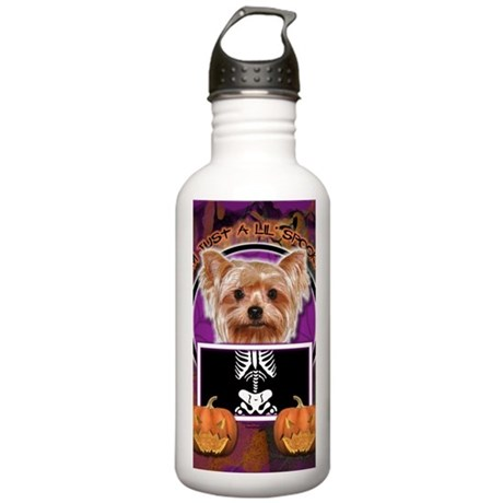 LilSpookyYorkshireTerr Stainless Water Bottle 1.0L