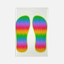 flipflops 4 Rectangle Magnet