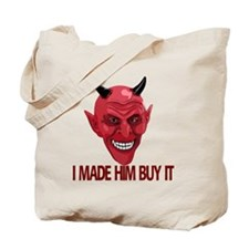 A-Devil-him-buy-10trans Tote Bag