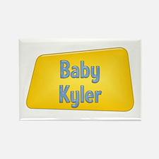 Baby Kyler Rectangle Magnet