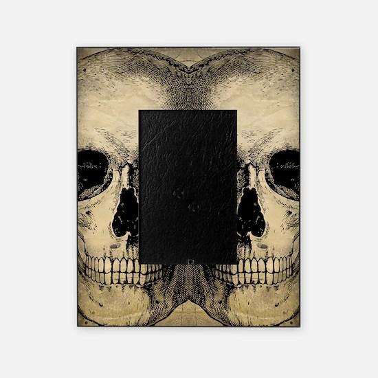 vintage_skull_flipflops Picture Frame