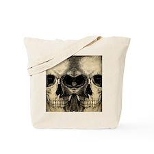 vintage_skull_flipflops Tote Bag