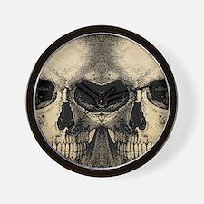 vintage_skull_flipflops Wall Clock