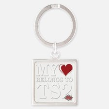 My-Heart-Belongs-to-TS2 copy Square Keychain