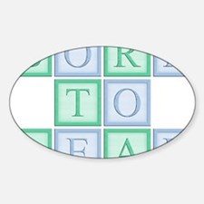 Blue_Green_Born_to_read_5x5 Decal