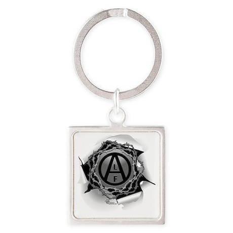 alf-white-01 Square Keychain