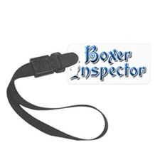 boxerinspectoraltw Luggage Tag