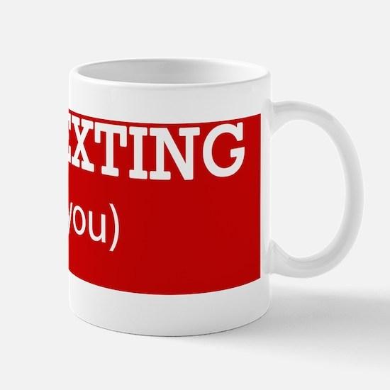 stop_texting Mug