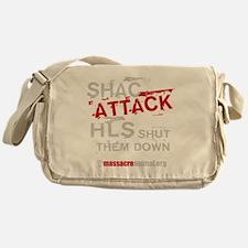 shac-01-black Messenger Bag