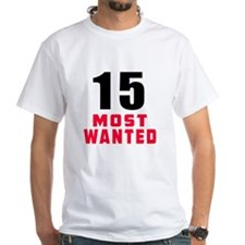 15 most wanted Shirt