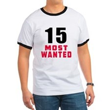 15 most wanted T