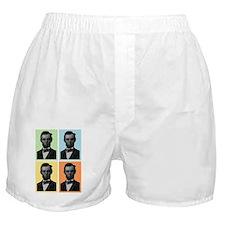 4 Score Abraham Lincoln Boxer Shorts
