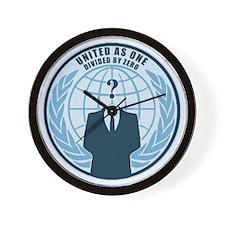 anonymousblue Wall Clock