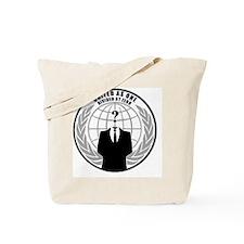 anonymousbutton Tote Bag