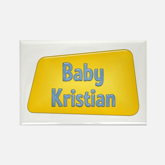 Baby Kristian Rectangle Magnet