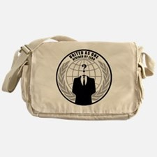 anonymous Messenger Bag