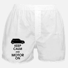 Keep Calm Motor On Mini Side Boxer Shorts