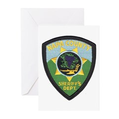 Napa County Sheriff Greeting Cards (Pk of 10)