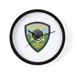 Napa County Sheriff Wall Clock