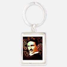 Tesla3 Portrait Keychain