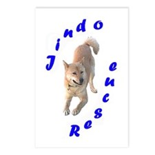 Funny Jindo Postcards (Package of 8)