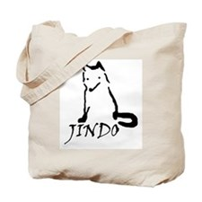 Cute Jindo Tote Bag